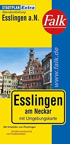 Falk Stadtplan Extra Standardfaltung Esslingen