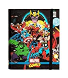 Grupo Erik Carpeta 4 anillas troquelada premium Marvel comics Avengers