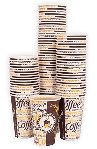 MGGI Trading Vasos de Papel de Calidad para Bebidas fr/ías o Calientes 4oz Espresso /…