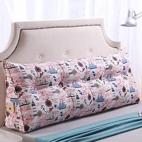 B-fengliu Lesekissen Bett Rückenkissen Triangular Kissen mit Keil aus Reiner Baumwolle Lagerungskissen Lagerungskissen Lesekissen Büro Kissen Lendenkissen, 11 Farben, 5 Größen