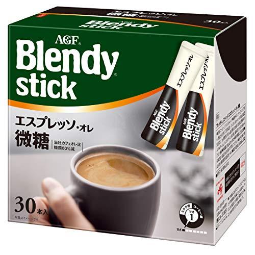 AGF ブレンディ スティック エスプレッソ微糖 30本 【 スティックコーヒー 】