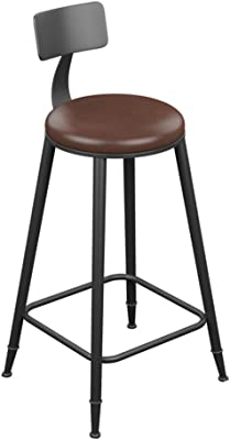 Nordic Style Modern Design Solid Wood Bar Stool Solid Wooden Leg Pp Seat Home Dining Coffee Bar Counter Stool Backless 68cm Strong Resistance To Heat And Hard Wearing Bar Stools Bar Furniture