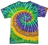 Colortone Tie Dye T-Shirt XL Mardi Gras