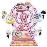 Mattheo Klug Jujutsu Kaisen Gojo Satoru Acrylic Cartoon Decoration 13x18cm Ferris Wheel Collectible Figurines