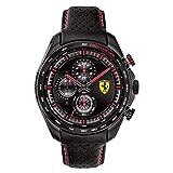 Scuderia Ferrari Orologio Analogico Quarzo Uomo con Cinturino in Pelle 0830647