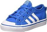 adidas Nizza C, Zapatillas Unisex Niños, Azul (Blau/Weiß Blau/Weiß), 35 EU
