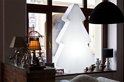 �rbol de Navidad, led, Recargable portátil de 82 cm para interior y exterior