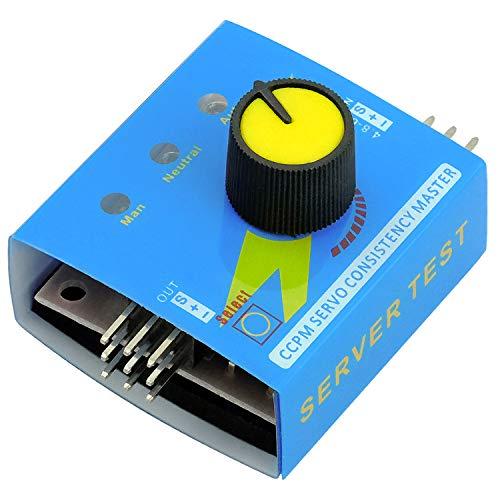AZDelivery Servo Tester CCPM Multi Tester 3CH für Servos und ECSs Drehzahl- und Stromregler kompatibel mit Arduino!