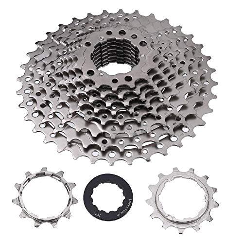 Fahrrad Kassetten, 9-12 Fach 32/36/42/46T Mountainbike Freilauf Kassetten Kettenrad für Rennrad Mountainbike(10 Fach 11-36T)