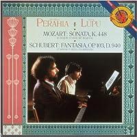 Mozart: Sonata K.448 Schubert: Fantasia, Op.103 by Murray Perahia
