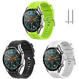 TOPsic Cinturino Huawei Watch GT 2 46mm/Huawei Watch GT Fashion/Sport/Active/Elegant/Class...