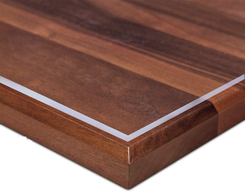 Ertex Tischdecke Tischfolie Schutzfolie Tischschutz Folie 2 2 Mm 1a Qualität Geeignet Für Den Kontakt Mit Lebensmitteln Transparent 100 X 200 Cm