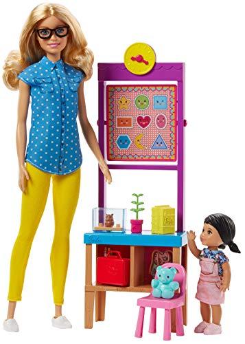 lavagna di barbie Barbie Playset Maestra con Capelli Biondi