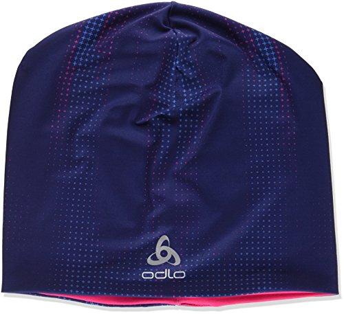 Odlo Hat Reversible Mützen, Peacoat AOP, One Size