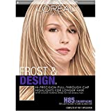6. L'Oreal Paris Frost and Design Cap Hair Highlights For Long Hair, H85 Champagne, 1 kit
