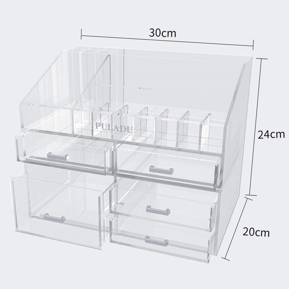 Totovy North America Modern Dresser Storage Cosmetic Acrylic Regular NEW before selling store Box