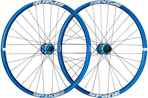 Spank Spike Race33 DH 26 Zoll wheelset 20 mm, 12/150 mm BB Laufräder, Blue