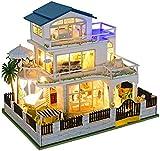 Kit De Modelo De Casa De Muñecas De Madera, Muebles En Miniatura En 3D, Regalos De Juguete Autoensamblados para Adolescentes Y Adultos: Regalos De Decoración Navideña