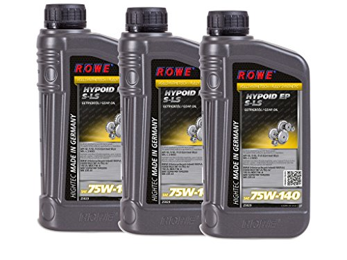3 (3x1) Liter ROWE HIGHTEC HYPOID EP SAE 75W-140 S-LS