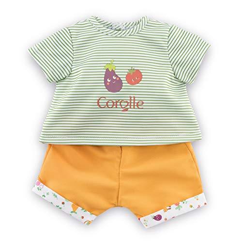Corolle Mon Premier Poupon 30cm Tshirt+Shorts / für alle 30cm Babypuppen / Für Kinder ab 18 Monaten geeignet