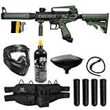 Maddog Tippmann Cronus Tactical Silver CO2 Paintball Gun Marker Starter Package - Black/Olive