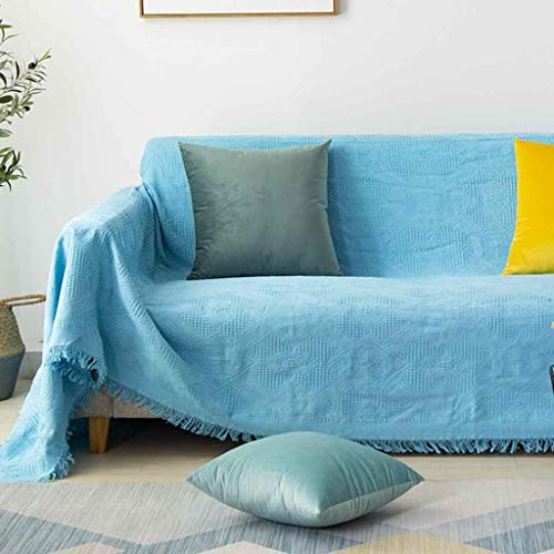 ZHICHENG Housse de Canapé Extensible, Revêtement de Canapé, Housse Extensible canape Housse Protection canapé (Color : Sofa Cover-8, Size : 90 * 180m)
