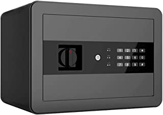 KELITE Electronic Password Safe Home Office Small Hidden Cabinet All-steel In-wall Password Box Lightweight and Portable B...