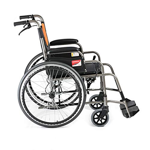 LOO LA Leichtrollstuhl Faltbar Rollstuhl Sanitätshaus Multi-Size-Reifenbreite Faltbar Multi-Size-Rollstuhlsitzhöhe Mobiclinic Faltrollstuhl