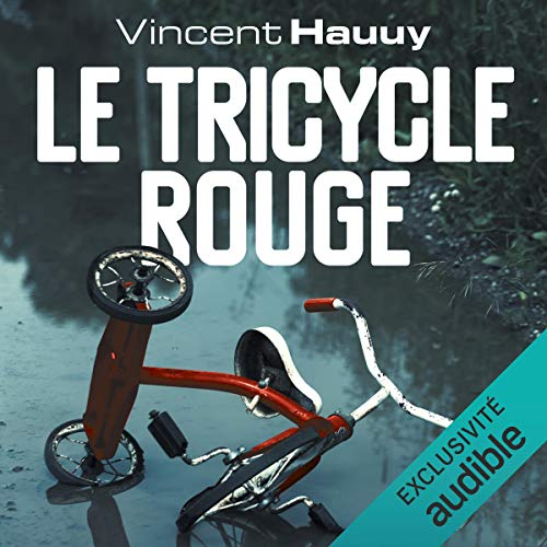 Le tricycle rouge audiobook cover art