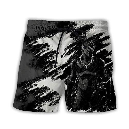 CHWEI Gebreid Hat Boardshorts Zwembroek mannen vrouwen 3D bedrukte luipaard Summer Beach Shorts Snelle droge strandbroek Outdoor Vrijetijdszwembroek Taille Board Surfbroek