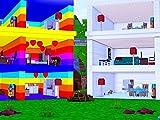 Clip: Rainbow Doll House Vs Quartz Doll House!