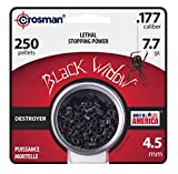 Crosman CBW776P .177-Caliber Premier Black Widow Pellets (250-Count)