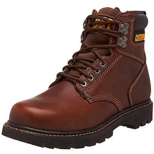 Caterpillar Men's Second Shift Work Boot, Tan, 12 M US