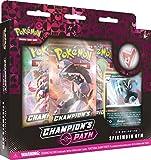Pokémon POK817755 TCG: Pasador de Campeón Colección-Ballonlea, Spikemuth y Hammerlocke Gyms (uno al Azar), Multi