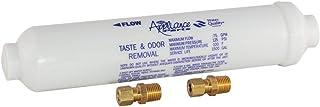 """EZ-FLO 60461N In-Line Water Filter for Taste and Odor, 10"""" Length, White"""
