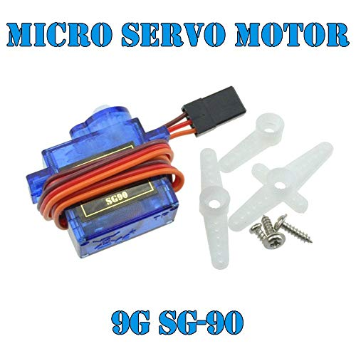 2 x SG90 Micro 9g RC Mini Servos voor vliegtuig, helikopter, autozeil motor.