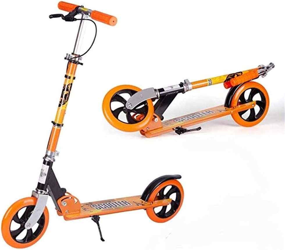 DESTRB Children's Folding Scooter 6-10-15 Ranking TOP6 Youth Old 18 Large discharge sale Years Two