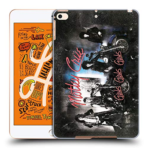 Official Motley Crue Girls Girls Girls Albums Hard Back Case Compatible for Apple iPad mini (2019)
