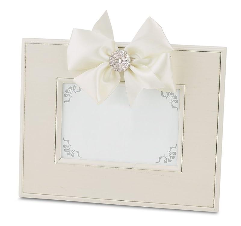 怖がって死ぬいたずらパシフィックBearington Fancy That Frame, Cream Striated Magnetic Photo Frame, 10cm x 15cm