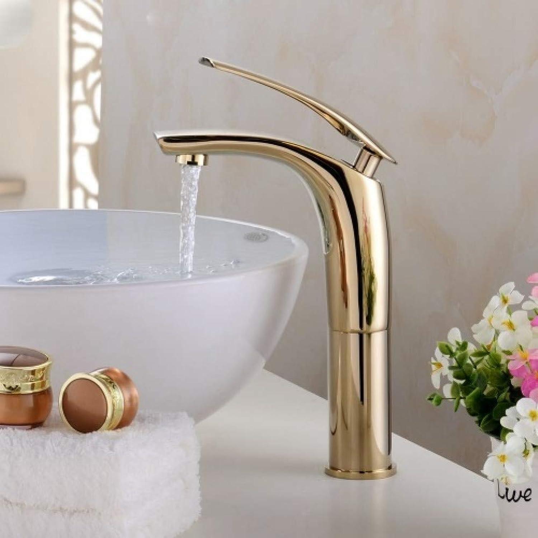 YHSGY Waschtischarmaturen Waschbecken Wasserhahn Heies Und Kaltes Wasser Mischkran Chrom Fertig Wasserhahn Toilettenbecken WeiGold Schwarz Waschbecken Wasserhhne