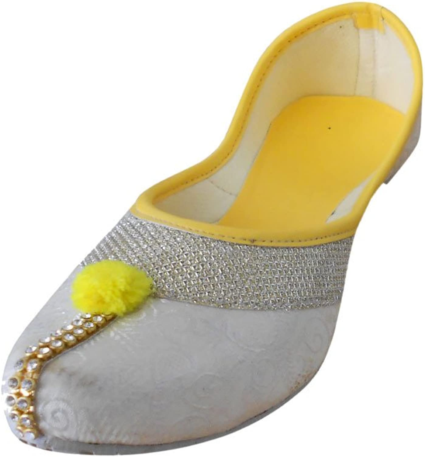 Kalra Creations Jutti Women's Traditional Indian Mojari Ethnic shoes