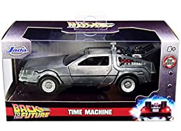 Authentically licensed product from Back To the Future As seen in Back To the Future, the Time Machine has been taken directly from the big screen and brought to you in a convention exclusive 1:32 scale die - cast model Crafted from durable materials...