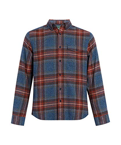 Woolrich Eco Rich Twisted Rich II Shirt Bluestone XL