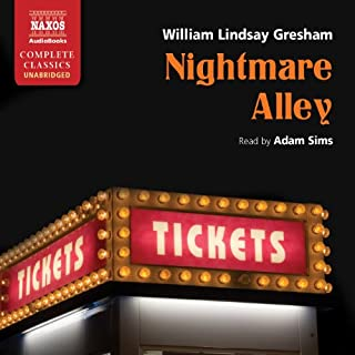 Nightmare Alley audiobook cover art