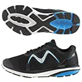 MBT Rocker Bottom Shoes Men's – Athletic Running Shoes Speed 2 - Black