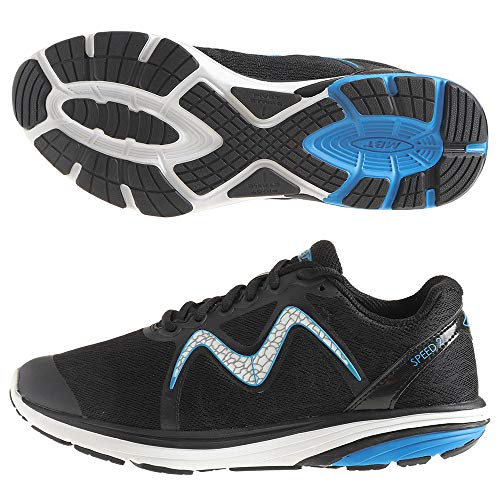 MBT Herren Speed 2 M Sneakers, Black 03y, 44 EU
