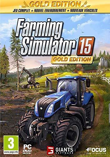 Farming Simulator 15 - édition gold - PC - [Edizione: Francia]