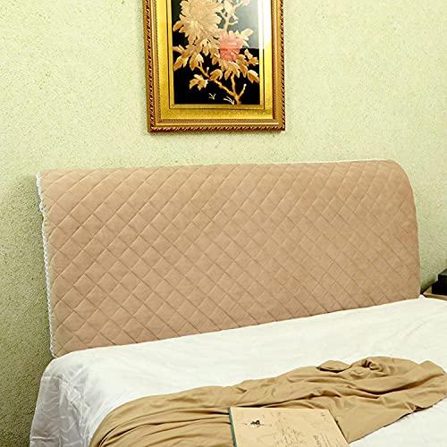 MaSYZBF Elástica Funda para Cabecero de Cama, Cubierta para Cabecero de Cama a Prueba de Polvo para Protectora de Cabeceros de Cama Todo Incluido para Decoración,210cm-83in-C