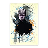Kunstbruder Luke Skywalker Color (div. Größen) - Kunst