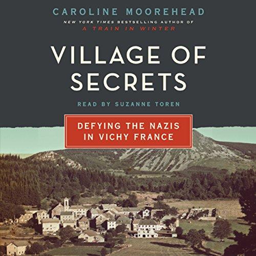 Village of Secrets  audiobook cover art
